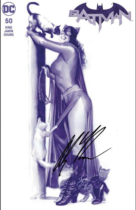 Batman 50 variant by Alex Ross, Cover B Catwoman