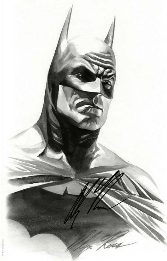 Batman 50 variant by Alex Ross, cover c Batman