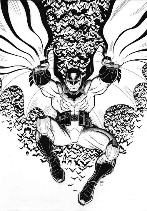 Batman 50  variant by Arthur Adams