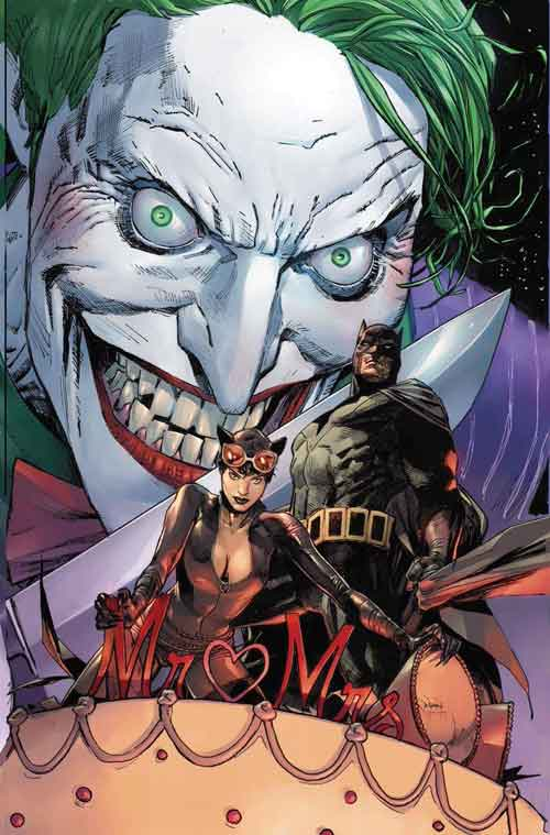 Batman 50 Joker variant by Clay Mann