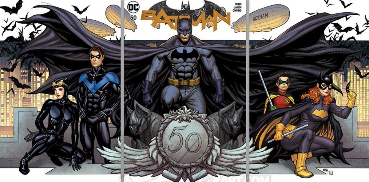 Batman 50 variant cover by Frank Cho