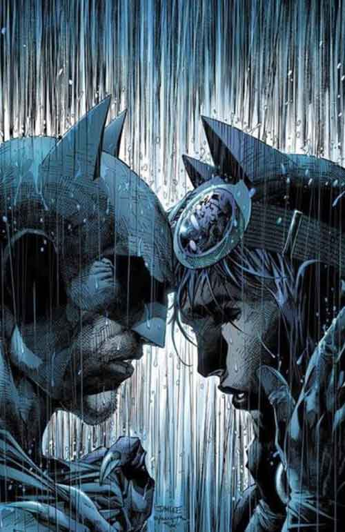Batman 50 variant by Jim Lee
