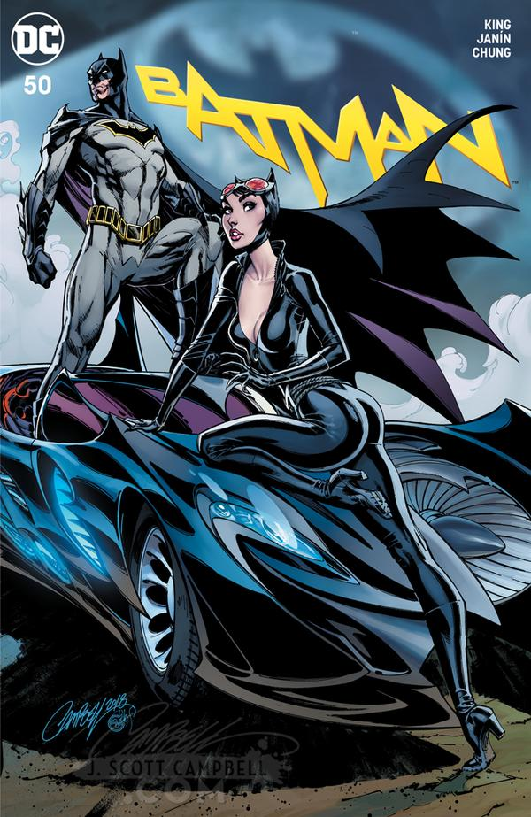The Full Wedding Party A-Cover Batman and Catwoman