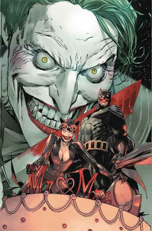 Batman 50 Bloody Bat Variant by Clay Mann