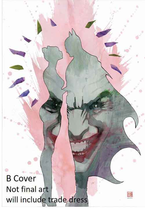 Batman 50 variant by David Mack