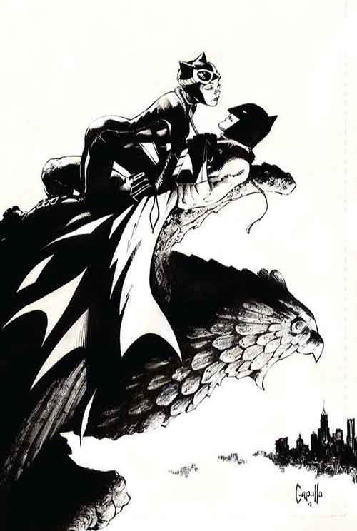 "Greg Cappulo Batman & Catwoman for Batman 50 ""Holy Matrimony"" by Tom King"